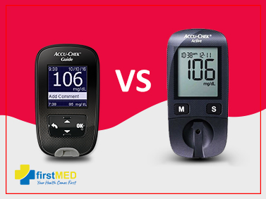What's better: Accu-chek Guide or Accu chek active?