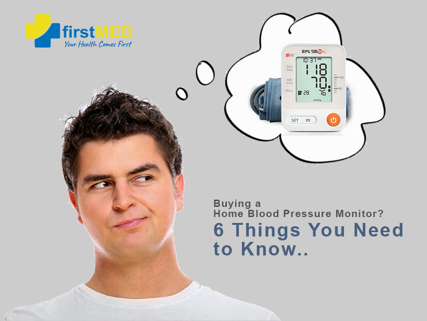 Buying a Home Blood Pressure Monitor