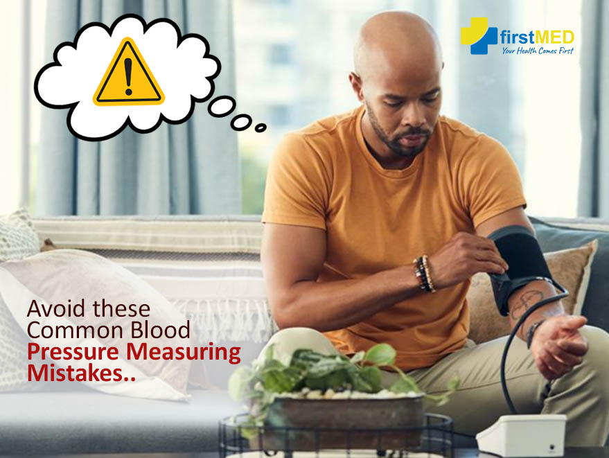 Avoid these Common Blood Pressure measuring mistakes in 2021